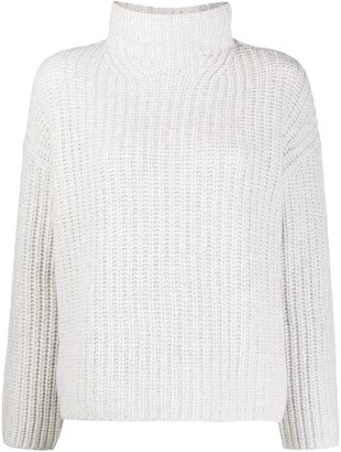 Vince Chunky-Knit Funnel Neck Jumper