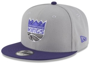 New Era Boys' Sacramento Kings Basic 9FIFTY Snapback Cap