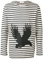 Ports 1961 striped sweatshirt