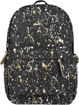 Accessorize Paint Splash Foil Printed Backpack