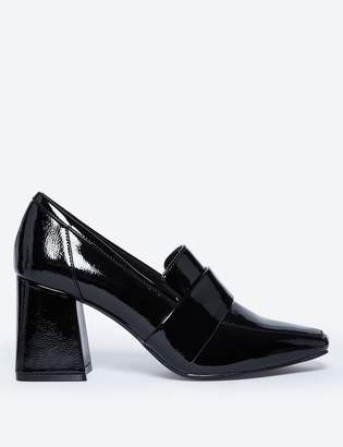 M&S CollectionMarks and Spencer Flared Block Heel Loafers