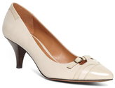 Brooks Brothers Pointed Leather Pumps