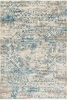 Loloi Rugs Kingston Rug - Ivory/Blue