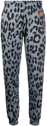 Kenzo Leopard Print Trousers