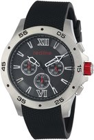 Redline Red Line Men's RL-60029 Chronograph Dial Textured Silicone Watch