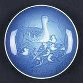 Bing & Grondahl 1973 Mothers Day Plate Mors Dag Platter Denmark Blue