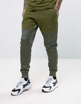 Nike Air Joggers In Tapered Fit In Green 832152-331