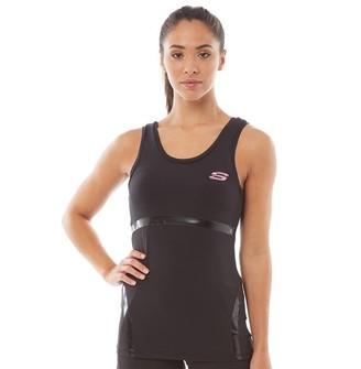 Skechers Womens Opal Yoga Sports Vest Jet Black