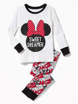 "Old Navy Disney© Minnie Mouse ""Sweet Dreamer"" Sleep Set for Toddler & Baby"