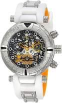 Invicta Women's 24881 Character Quartz 3 Hand , Gunmetal, Silver Dial Watch