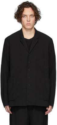The Viridi-anne Black Pocket Shirt