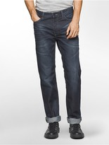 Calvin Klein Straight Leg Splatter Paint Jeans