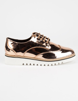 CAPE ROBBIN Trendy Womens Oxford Shoes