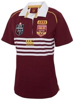 Canterbury of New Zealand QLD Maroons State of Origin 2017 Women's Classic Jersey