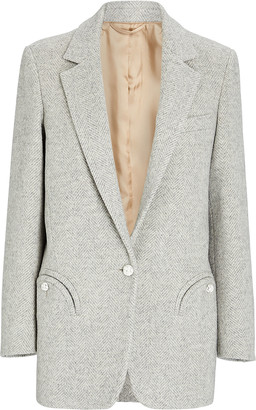 BLAZÉ MILANO Weekend Herringbone Blazer