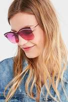 Urban Outfitters Cher Square Cat-Eye Sunglasses