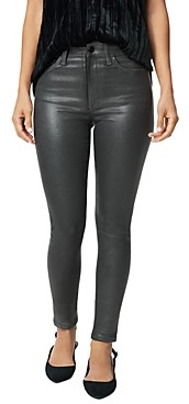 Joe's Jeans The Charlie Skinny Ankle Jeans in Gunmetal Coated