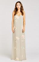MUMU Jolie Maxi Dress ~ Lily Showers