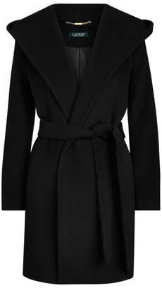 Ralph Lauren Hooded Wrap Coat