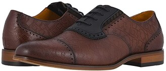 Stacy Adams Stratton Cap Toe Oxford (Cognac) Men's Shoes