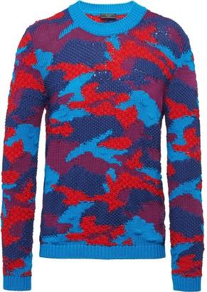 Prada Camouflage Pattern Jumper