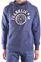 Franklin & Marshall Men's Blue Cotton Sweatshirt.
