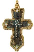 Armenta Sueño 18k Gold Fleur Artifact Enhancer with Diamonds