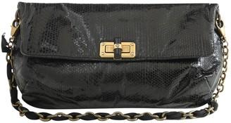 Lanvin Black Leather Handbags