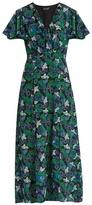 Saloni Josee floral-print silk midi dress