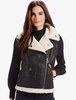 Lucky Brand Shearling Vest