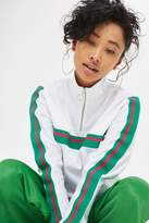 Topshop Sporty Track Top