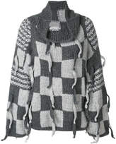 Loewe checked pullover
