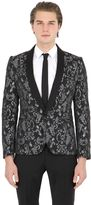 Christian Pellizzari Lurex Jacquard Evening Jacket