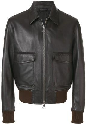 Ami Paris Zipped Jacket Classic Collar