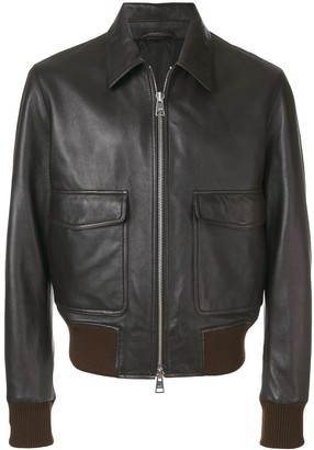 Ami Zipped Jacket Classic Collar
