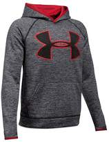 Under Armour Boys' AF Storm Twist Big Logo Hoodie - Big Kid