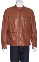 Salvatore Ferragamo Quilted Leather Jacket