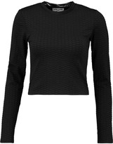 Opening Ceremony Thalia textured stretch-knit top