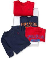 Ralph Lauren Sweatshirt & Tee 4-Piece Set