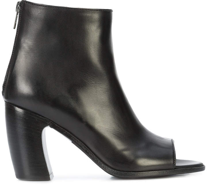 Ann Demeulemeester open-toe booties