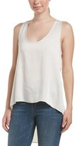 BCBGMAXAZRIA High-low Tank.