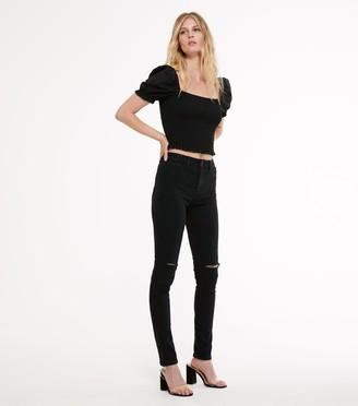 New Look Tall Ripped Knee Jenna Skinny Jeans
