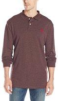 U.S. Polo Assn. Men's Classic Long Sleeve Interlock Polo Shirt