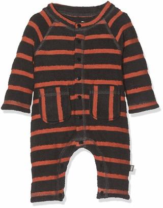 Imps & Elfs Baby Boys' Overall Long Sleeve Romper