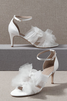 BHLDN Oresme Heels By in White Size 6