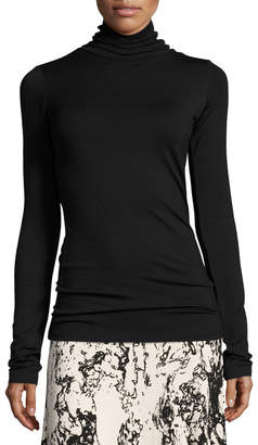 Rachel Pally Plus Size Basic Long-Sleeve Turtleneck, Black