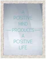 """PTM Images A Positive Mind Framed Print - 16.75"""" x 20.75"""""""