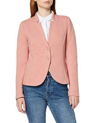 Tom Tailor Casual Women's Strukturierter Ottoman Suit Jacket,(Size of : Large)