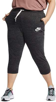 Nike Plus Gym Vintage Cropped Jogger Pants