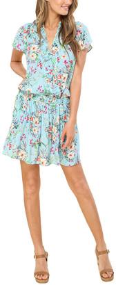 Hale Bob Blouson Mini Dress